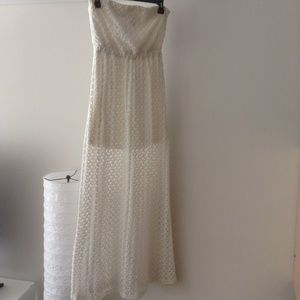 Mimi Chica lace strapless dress